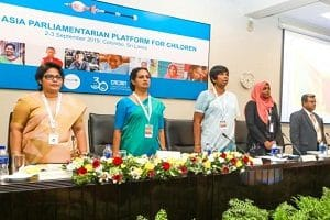 2019 South Asian Parliamentarian conference for Children of UNICEF