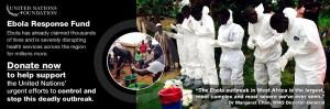 Ebola virus crisis fund