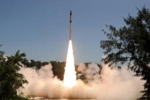 Nuclear Capable Agni IV Test Fired