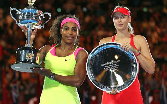 Serena Williams beats Sharapova