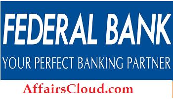 Federal Bank Recruitment 2015
