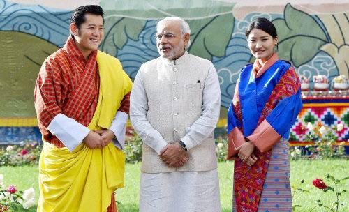 Modi Bhutan visit