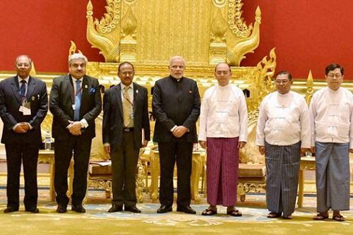 Modi-Myanmar