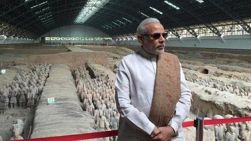 Modi Vist China