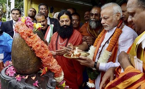 Modi visit Mauritius