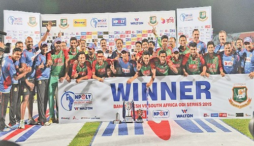 Bangladesh wins historic ODI series against South Africa
