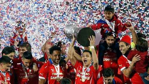 Chile beat Argentina 4-1