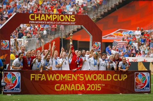 USA crowned FIFA Women's World Cup 2015 champions