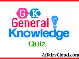GK-General Knowledge Quiz