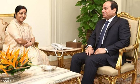 India, Egypt agree to step up bilateral cooperation