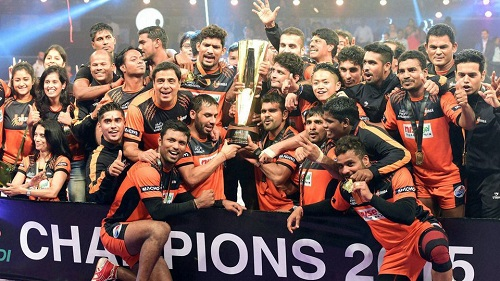 Pro Kabaddi League 2015-U Mumba crowned champions