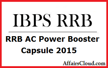RRB AC Power Booster Capsule 2015