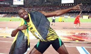 Usain Bolt beats Justin Gatlin for gold in 100 at worlds championship