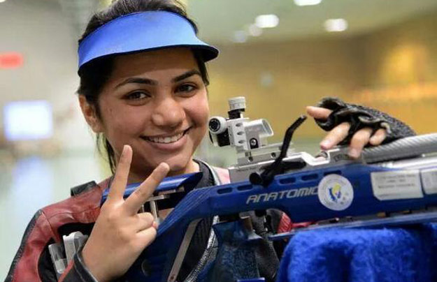 Apurvi Chandela,an Indian Shooter bagged silver at WC final