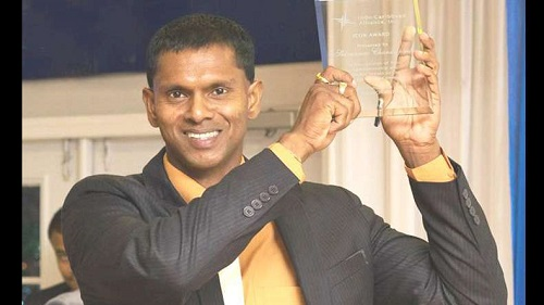Chanderpaul receives Icon Award