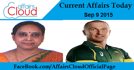Current Affairs Sep 9 2015
