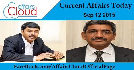Current Affairs Today Sep 12 2015