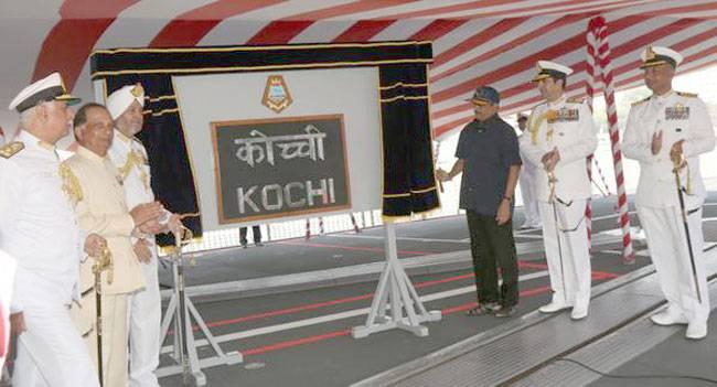 INS Kochi commissioned in Mumbai