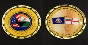 India, US Create Joint Challenge Coin