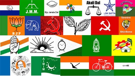 Political Parties In Indianational And State And Their Current