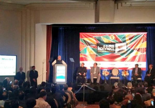 PM modi visit to US - startup Konnect