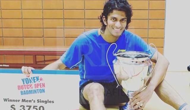 Ajay Jayaram grabbed Dutch Open title