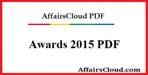 Awards 2015 PDF