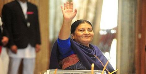 Bidhya Devi Bhandari elected as first female President of Nepal