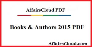 Books & Authors 2015 PDF