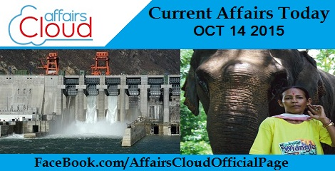 Current Affairs Today Oct 14 2015