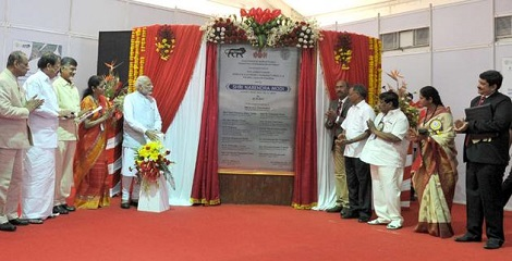 Foundation stone lays for Mobile Manufacturing Hub in Tirupati