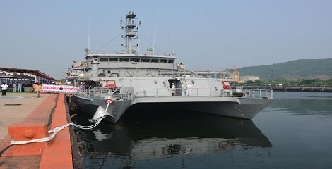 INS Astradharani commissioned in Visakhapatnam