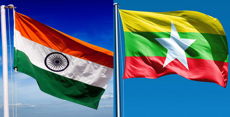 India Myanmar  Kaladan Multi Modal Project