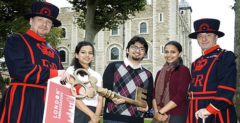 India third-largest student market in London