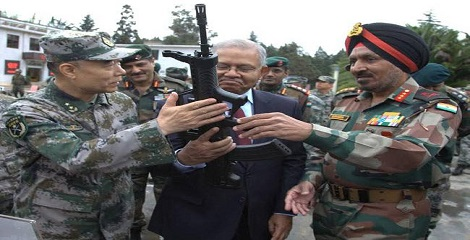 Indian, Chinese army