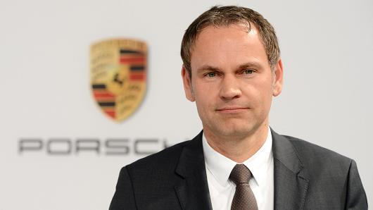 Porsche names Oliver Blume new CEO