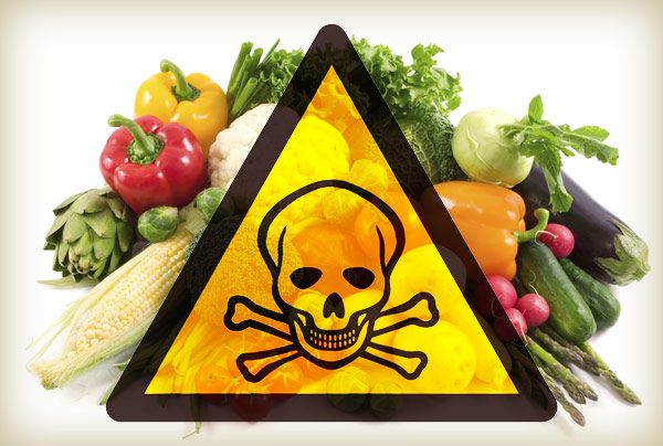 WARNING - 12.5 per cent food items contain illicit pesticides as per Govt report