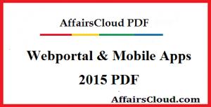Webportal & App 2015 PDF