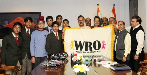 13th World Robot Olympiad to be Held in Delhi in November, 2016