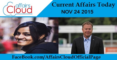 Current Affairs Today 24 November 2015