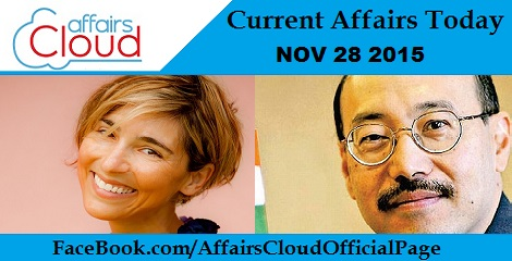 Current Affairs Today 28 November 2015