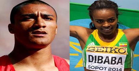 IAAF names Eaton, Genzebe Dibaba as world athletes