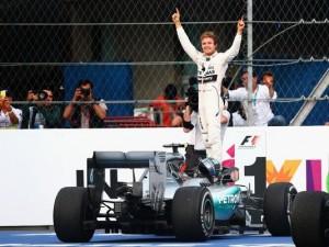 Nico Rosberg wins 2015 Mexican Gand Prix of Formula 1