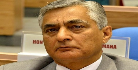 T. S. Thakur sworn in as the 43rd Chief Justice of India
