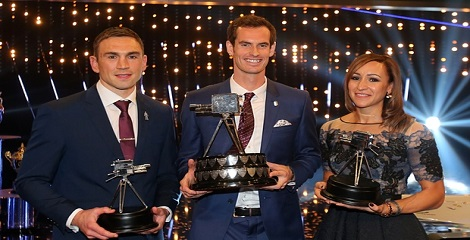 2015 BBC Sports Personality of the Year Award conferred on Andy Murray