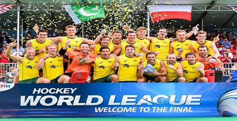 AUS clinched the title of Hockey World League defeating BEL