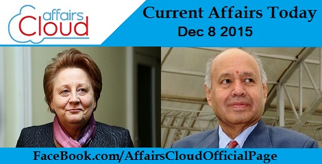 Current Affairs Today 8 December 2015