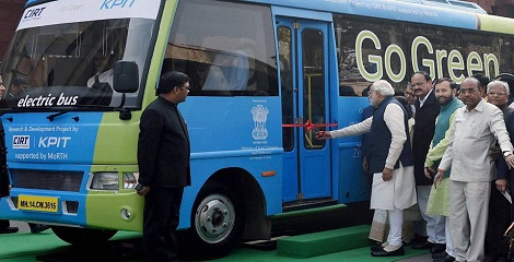 First prototype electric bus for MPs launched