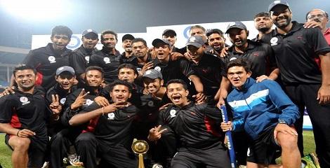 Gujarat clinched maiden Vijay Hazare Trophy