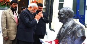 NaMo inaugurated Ambedkar memorial & unveiled Basaveshwara statue
